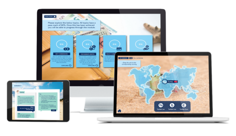 elearning multi devices